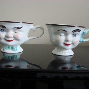 Vintage Baileys YUM Irish Cream Coffee Tea Mugs